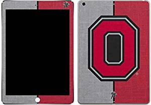Ohio State University iPad Air Skin - OSU Ohio State Buckeyes Split Vinyl Decal Skin For Your iPad Air