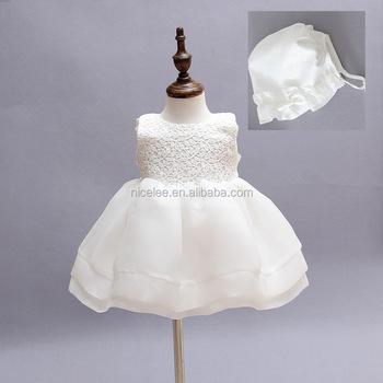 Ns0872 Niño Niña Bebé Vestido De Bautismo Niña 1 Año Cumpleaños Vestidos Niñas Niños Vestidos De Boda Fiesta Ropa De Bebé Recién Nacido De Bautizo