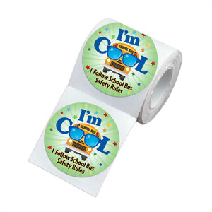 Paper/pvc/pet/pp/pe die cut stickers roll adhesive label
