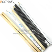 2014 Cheapest Customized Promotion Black Wooden Mini Hotel Pencil