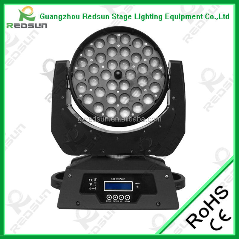 Luces para discoteca stage lights led moving zoom light