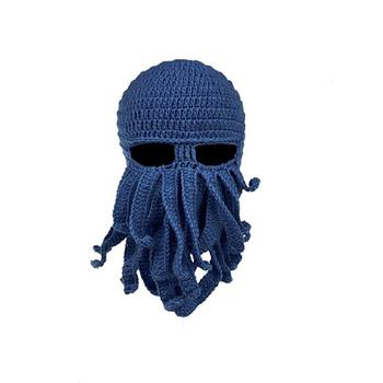 1347cd4aa6c Winter Warm Octopus Shape Windproof Funny Beanie Hat Knit - Buy ...