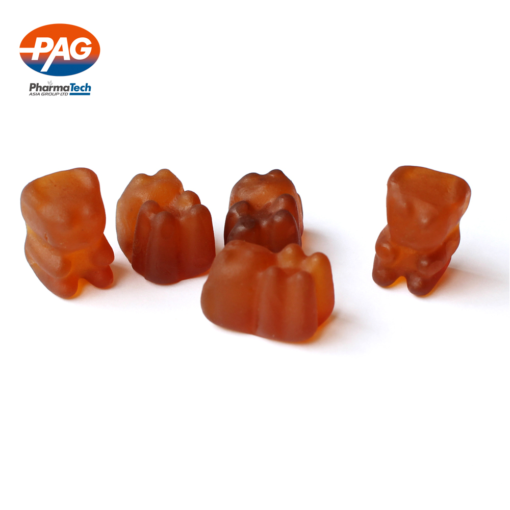 Hot sale multi vitamin/vitamin c gummy bear