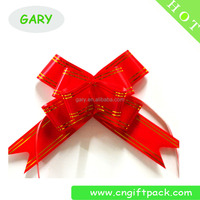 Wholesale Christmas Gift Butterfly Ribbon Pull Bow For Gift Package