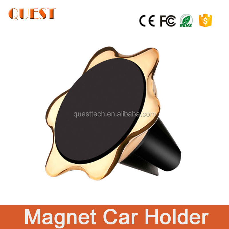 Universal Magnetic Car Phone Holder Air Vent Car Holder for iphone 7 plus 8 s for samsung galaxy s7 s6 phone booth holder