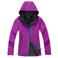 Popular Women Winter Softshell Jacket Water Proof