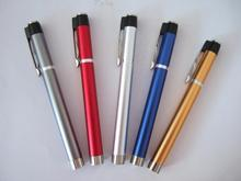 New coming simple design medical devices stainless steel cute function pen light for sale
