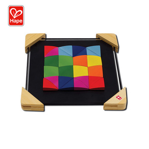 Hape Multifunction magnetic jigsaw wooden magnetic puzzle board
