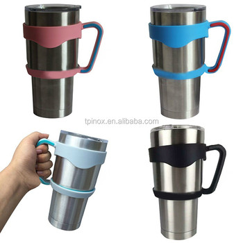 Multicolor Cup Holders Stainless Steel Insulated Tumbler Mug Cup reusable coffee cup