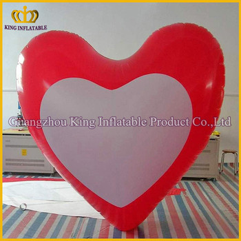 Attractive Design PVC Giant Inflatable Heart Shape For Party.inflatable  Shaped Heart Wholesale