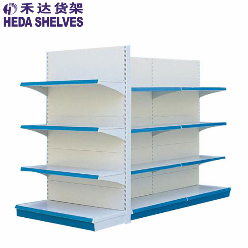 5 layers single-side gondola supermarket shelf,shelf signs for supermarket