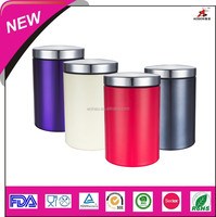china wholesale stainless steel tea coffee sugar canister