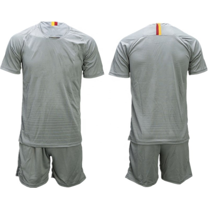 2019 New Thai Soccer Uniforms Manufacturer China Football Jersey, Any color is available