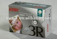 3R Silk Inkjet Photo Paper with sticker paper