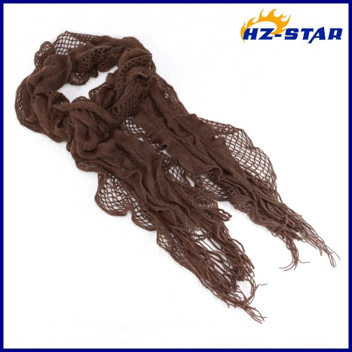 HZW-13785003 ladies pretty red jacquard acrylic trendy knitting fashion acrylic national wholesale china red rose scarf
