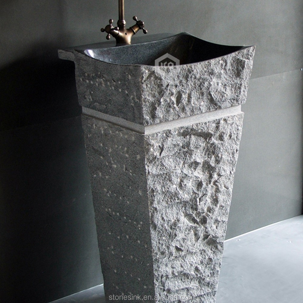 2016 Simple Design Natural Stone Pedestal Sink   Buy Cheap Pedestal Sinks,Outdoor  Stone Sink,Unique Pedestal Sinks Product On Alibaba.com