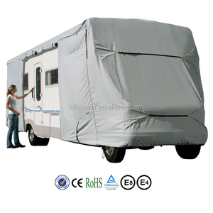 waterproof breathable UV protection customized Class C RV motorhome cover