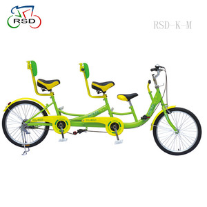 Tandem bike for a family with 3 person /cheap single speed bicycles/bicycle with baby seats