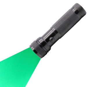 High Power Green Light Torch 3W LED Green Beam Hunting Flashlight
