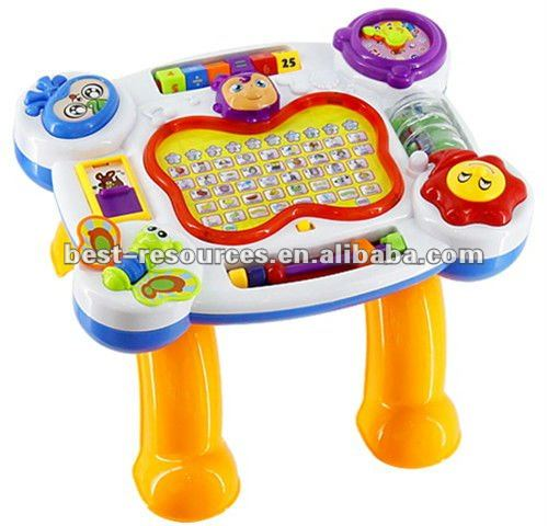cartoon learing desk for baby