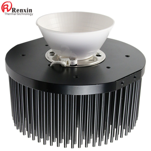 Cold forging aluminium heatsink round shape electronic cooling heat sinks