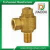 Top quality Cheapest Brass saddle and ferrule valve