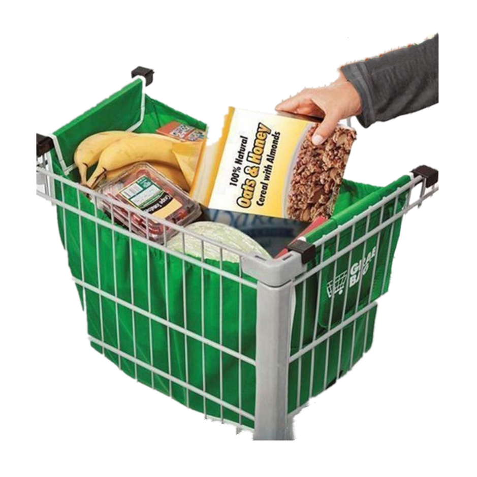 Eco Friendly Recycle carrello shopping bag Supermercato trolley Borse per la Spesa Al Carrello