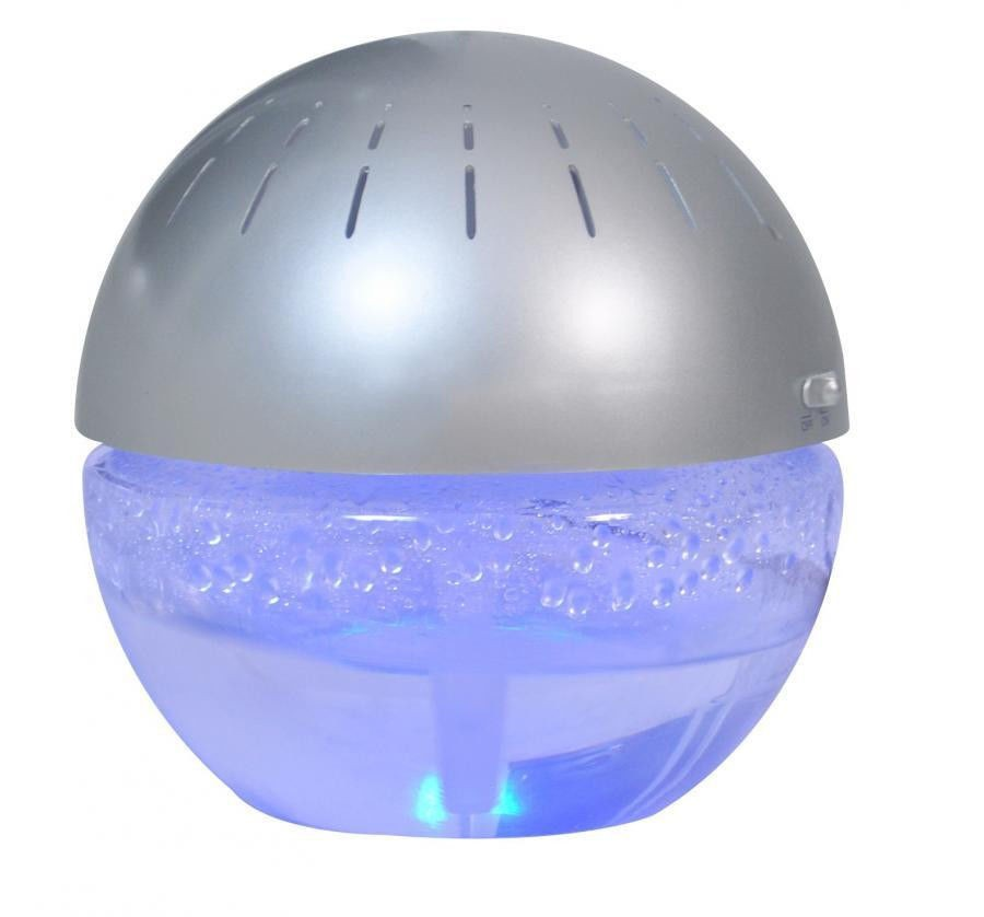Water Air Purifier With Fragrance : Blue led lighted fragrance dome water based air purifier
