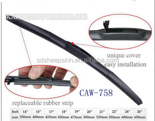 Popular antique carall wiper blades