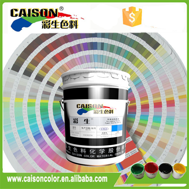 pigment color chemicals for interior wall paint