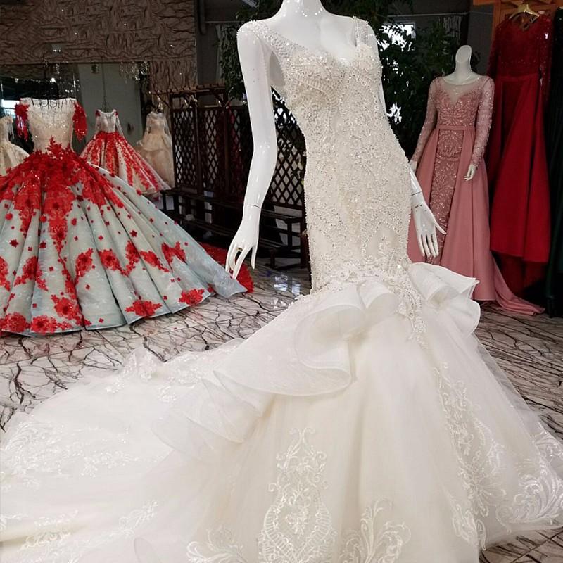 0b4bfd5dda Ls99054 Long Removable Train Sexy Informal Wedding Dresses Bridal ...
