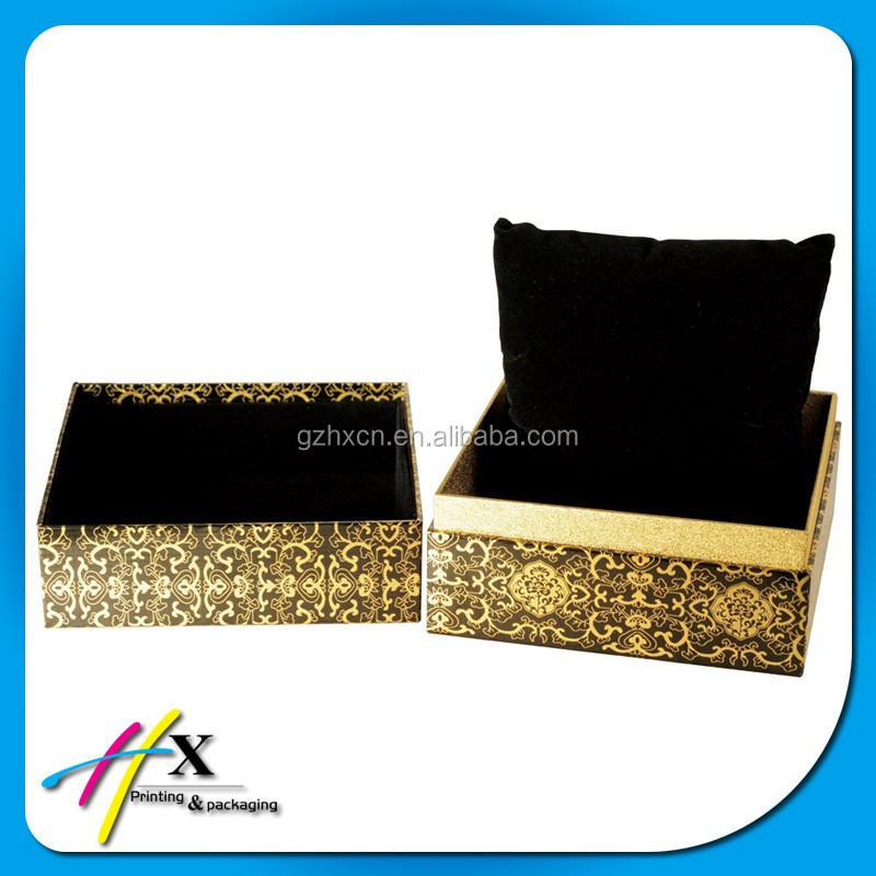 Custom Luxury Wooden Watch Storage Box for Presentation with Pillow