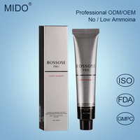 China Hair Dye Manufacture Private Label Professional Italian Hair Color Brands Style Ammonia Free Hair Color Cream