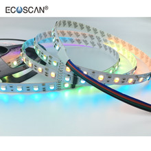 Ecoscan 60LED 14.4 W/m 5050 waterproof rgb <span class=keywords><strong>led</strong></span> <span class=keywords><strong>הרצועה</strong></span> גמישה 24 v DMX512 <span class=keywords><strong>led</strong></span> <span class=keywords><strong>פיקסל</strong></span> RGB <span class=keywords><strong>הרצועה</strong></span>