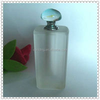 Tall Matting Crystal Perfume Bottle For Men's Gifts