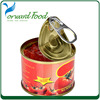 400g canned Tomato Paste made by tomato paste machine use for canned tomato paste
