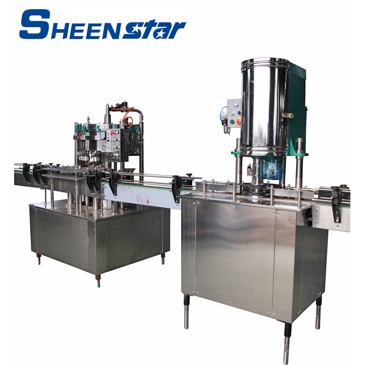 small beer canning line soft drink canning machine line