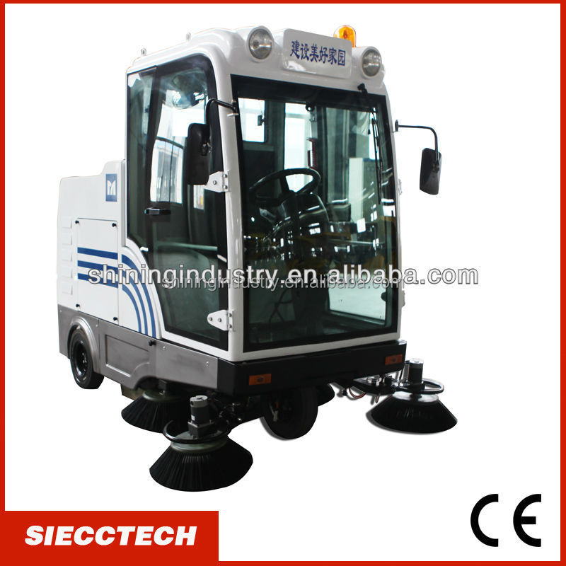 Factory plant sweeper, European Standard street cleaning machine/commercial vacuum cleaner sweeper - SIECC