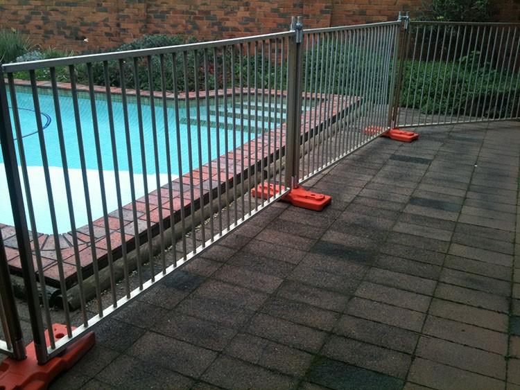 Shengwei Fence   2.1 X 2.4m Hot Galvanized Lightweight Portable Temporary  Garden Fencing