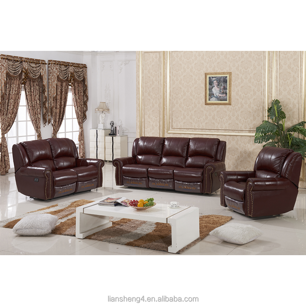 Home Furniture Living Room Sofa Sets 3 Seat Recliner Sofa Covers Sectional  Recliner Leather Sofa Set - Buy 3 Seat Recliner Sofa Covers,Recliner ...