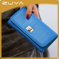 PU material women new designer ladies wallets purse