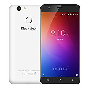 Generic Blackview E7 16GB, Network: 4G, 5.5 inch Android 6.0 MTK6737 Quad Core 1.3GHz, RAM: 1GB, Support GPS, Dual SIM(White)
