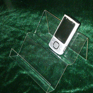 Clear Acrylic China Mobile Phone Display