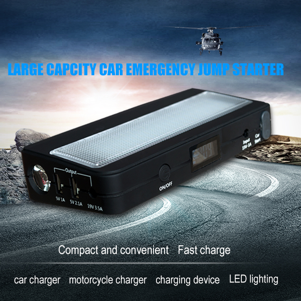 TPF 12v lithium handy mini compact multi-function power bank car emergency super start jump starter