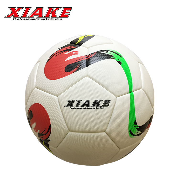 Design New Hand Stitched PVC Raw Materials Soccer Ball Designs Football