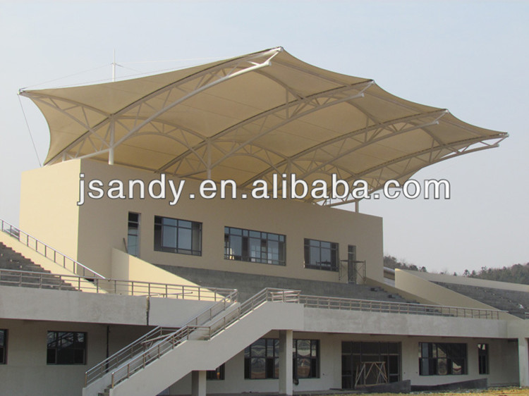 PTFE Tent Tensile Membrane structure/ Architecture Tensile Membrane Structure /Fabric Tensile Membrane Structure for Stadium