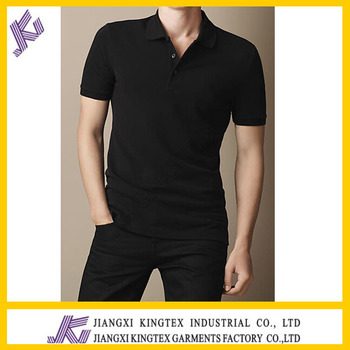 09f0ab62 100 Cotton Bulk Tshirt Polo Type,Golf shirt Work Uniform,custom black polo  shirt