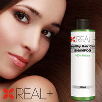 REAL+ professional hair salons products natural formula hair care shampoo