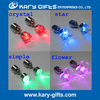 Fashion Design Colorful Flashing LED Light Up Earrings for Wedding and Party