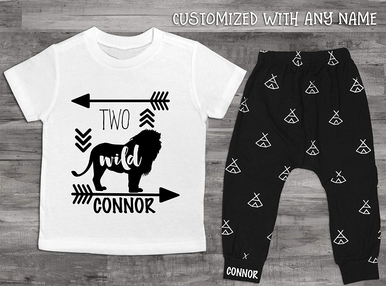 d2dca4f6f Get Quotations · Two Shirt Boy's 2nd Birthday Shirt Two Wild Shirt 2nd  Birthday Shirt Boy 2nd Birthday Second